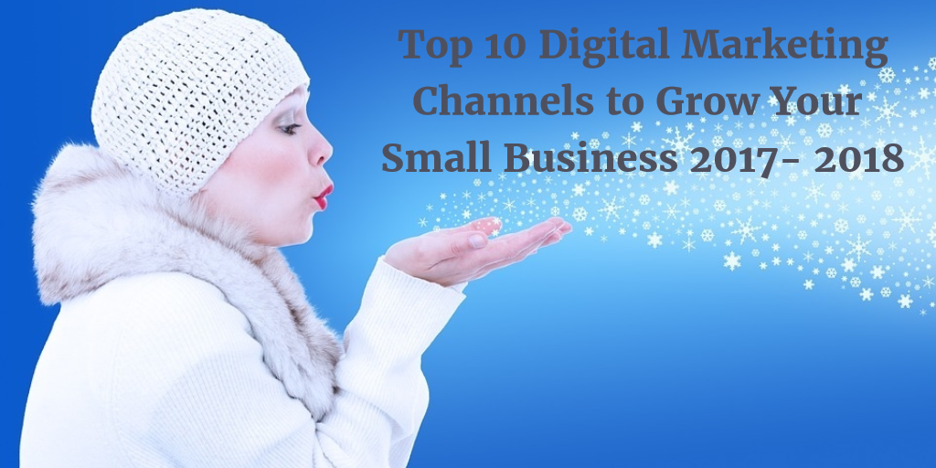 Top 10 Digital Marketing Channels to Grow Your Small Business 2017- 2018