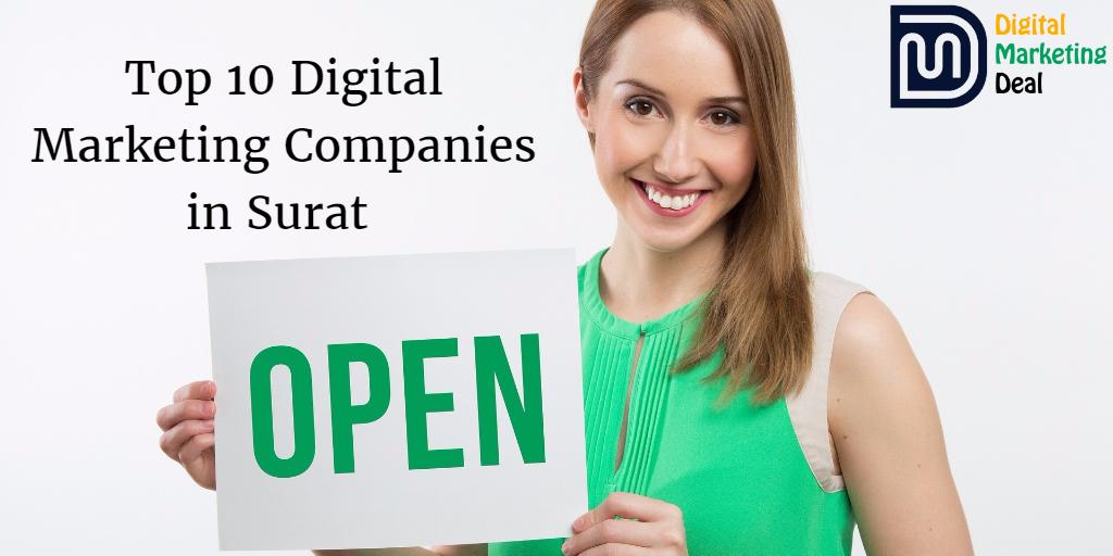 Top 10 Digital Marketing Companies in Surat
