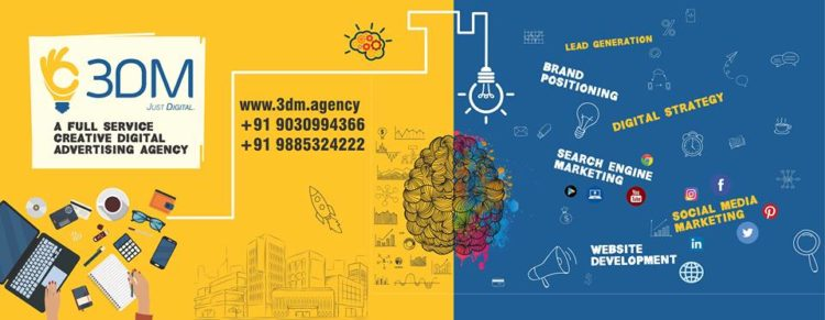 3DM, The Best Digital Marketing Agency in Hyderabad