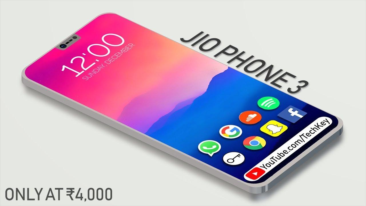Jio Phone 3 : 5G – 30MP DSLR Camera, 6GB Ram a 128GB, Price & Speces