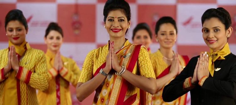 Air hostess salary in india : How to become Air hostess in india