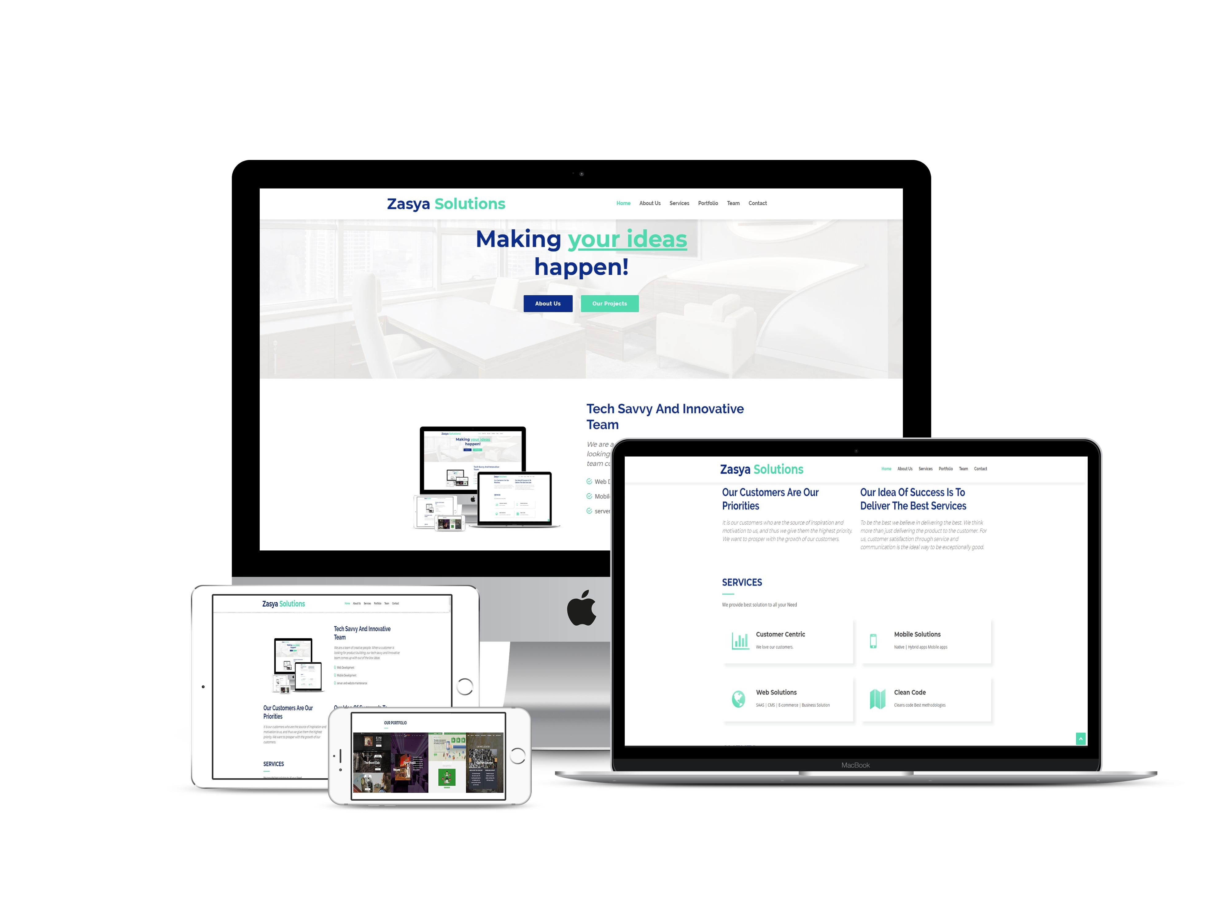 Best Website Development Company in Shimla | Zasya Solutions