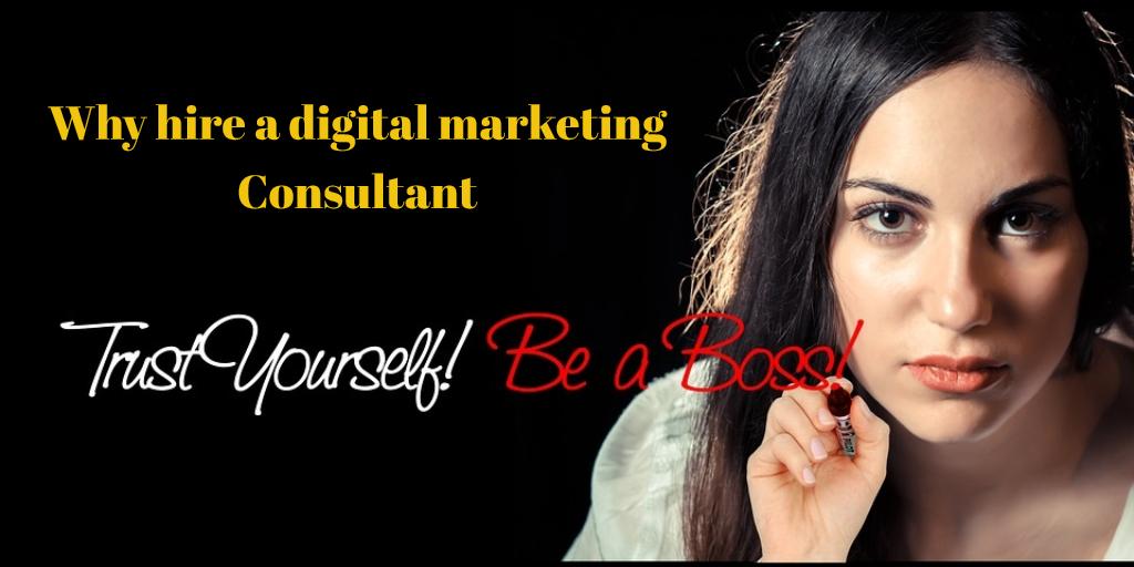 Why hire a digital marketing consultant in Gurgaon Delhi India