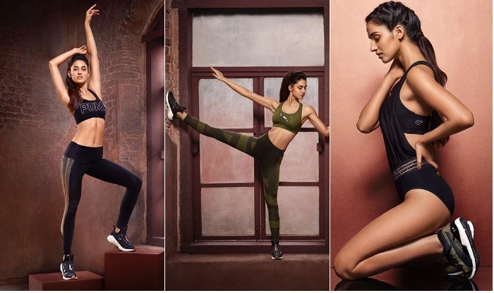 Actress Disha patani found Bridge Yoga : Best for thyroid patients