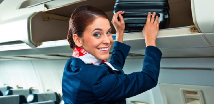 Air Hostess as a carrier