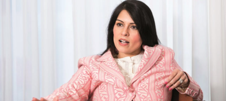 Became the first minister of Indian origin in the UK Priti Patel, PM Modi's fan