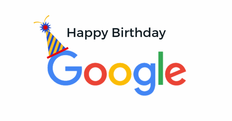 Google's 21st birthday today, read these special things related to Google