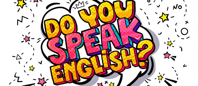 Why English-speaking person is given more attention in India?