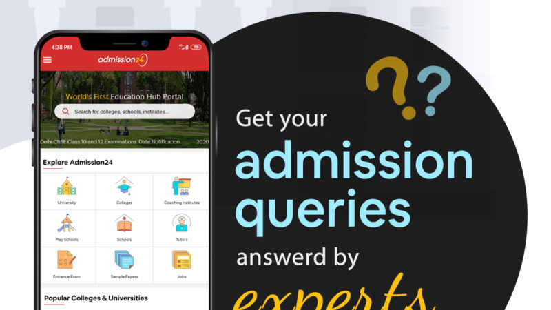Admission24 App To Provide Solutions To Your Education-Related Questions