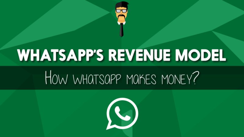 What is the revenue model of WhatsApp