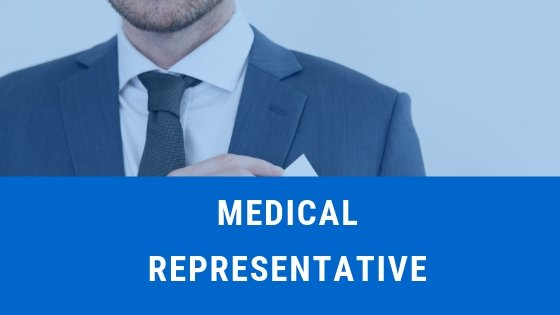 How to become a medical representative