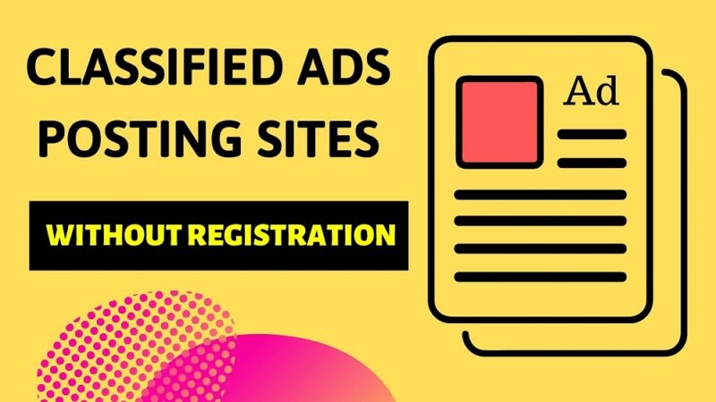 Free Ad Posting Sites in India List 2021 Updated