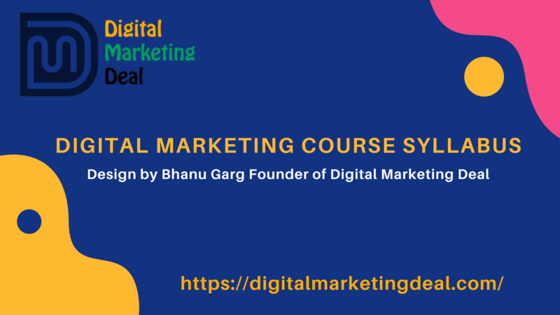 Digital Marketing Course Syllabus 2020 Updated With Question