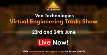 Vee Technologies Virtual Engineering Trade Show - 2021 is Live