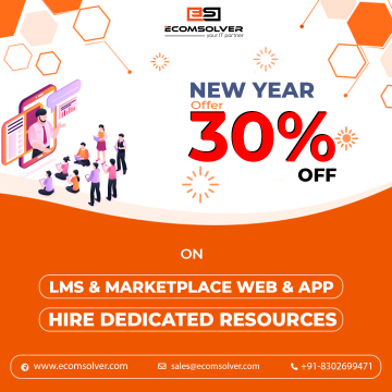 Get 30% OFF on LMS & Marketplace