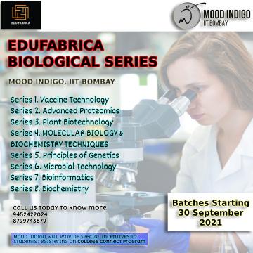 Edufabrica Biological Series Season one In Association with Mood Indigo, IIT Bombay