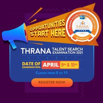 Thrana Talent Search Examination