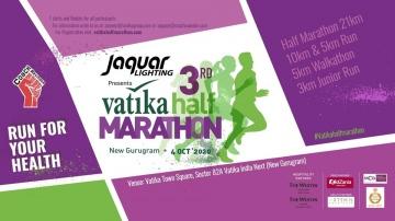 Vatika Half Marathon 2020