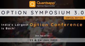 Option Symposium 3.0 - India's Largest Option Conference is Back! - Virtual Event