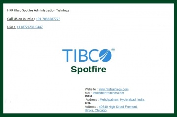 tibco spotfire administration training from HKR Training