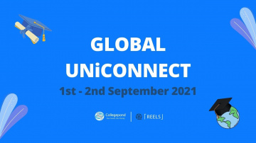 Collegepond Global UniConnect 2021 - India's Biggest Virtual Education Fair!