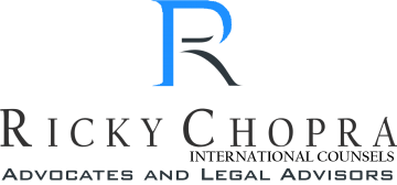 Ricky Chopra International Counsels advocates and legal advisors